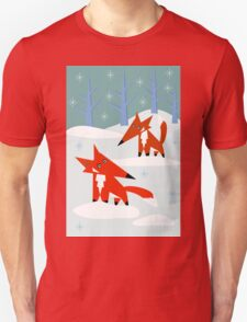 Snow Foxes T-Shirt