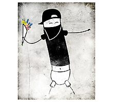 Le Banksy Photographic Print