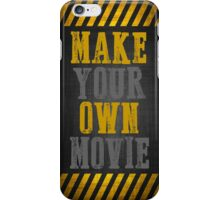 make your own movie iPhone Case/Skin