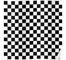 Checks, checkered, check it out! Poster