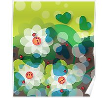 Joyful Spring - Earth Poster