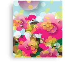 Joyful Spring - Air Canvas Print