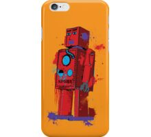 Red Robot Lilliput Splattery Shirt or iPhone Case iPhone Case/Skin