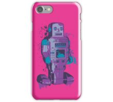 Purple Toy Robot Splattery Shirt or iPhone Case iPhone Case/Skin