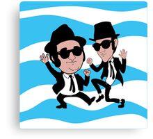 Jake and Elwood Blues Canvas Print