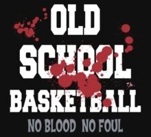 Old School Basketball Dark Kids Clothes