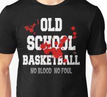 Old School Basketball Dark Unisex T-Shirt