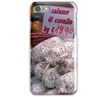 Horse Salami iPhone Case/Skin