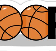 Basketball Hoops Sticker