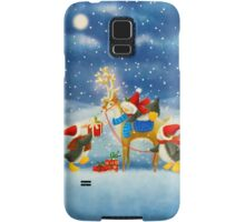 Penguin and Reindeer Samsung Galaxy Case/Skin