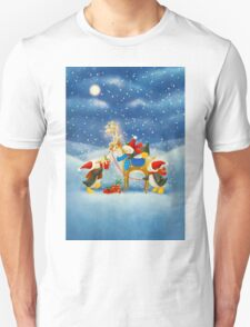 Penguin and Reindeer T-Shirt