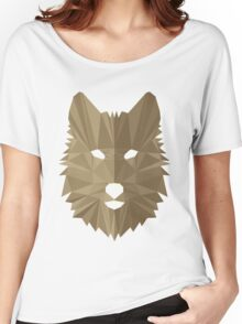 Wolf Cubism Women's Relaxed Fit T-Shirt
