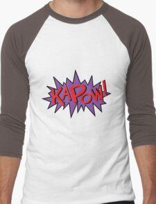 kapow Men's Baseball ¾ T-Shirt