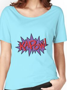 kapow Women's Relaxed Fit T-Shirt