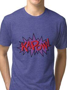 kapow Tri-blend T-Shirt