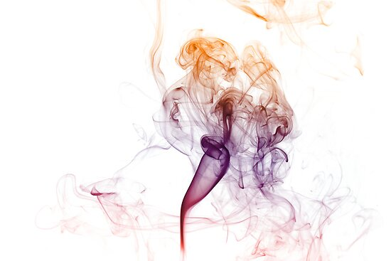 Abstract Colored Smoke  by Mike Taylor