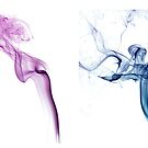 Abstract Smoke Collage by Mike Taylor