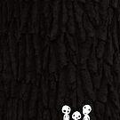 Kodama Tree Spirits by sanseref