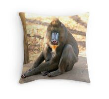 The Alpha Male Throw Pillow