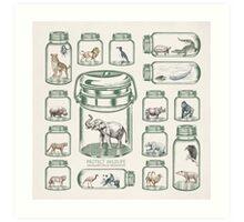Protect Wildlife - Endangered Species Preservation  Art Print