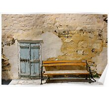 A Bench in Syros Poster