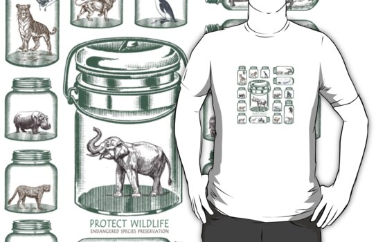 Protect Wildlife - Endangered Species Preservation  by BelleFlores