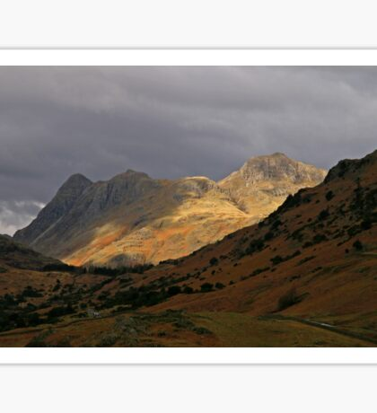 Spotlight on the Langdale Pikes Sticker