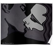 Midnight Lovers - Passion in monochrome Poster