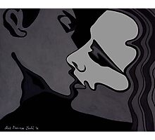 Midnight Lovers - Passion in monochrome Photographic Print