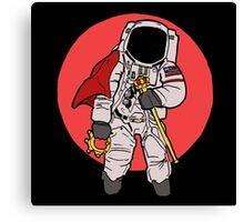 Astronaut King Canvas Print