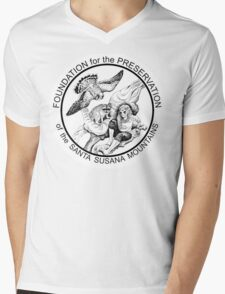 """""""Masked Tribe"""" by Tristan Edgarian Mens V-Neck T-Shirt"""