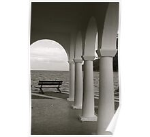 Arches on the Sea Poster