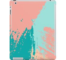 Pastel Colored Abstract Brush Strokes iPad Case/Skin