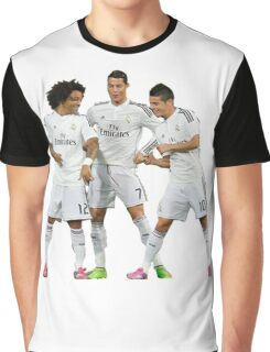 marcelo and cristiano ronaldo and james Graphic T-Shirt