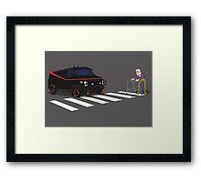 The A-Team Van Old Man Zimmer Frame Framed Print