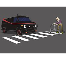 The A-Team Van Old Man Zimmer Frame Photographic Print