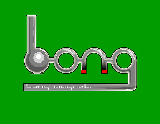 bong magnet by mouseman