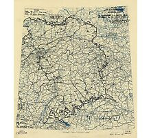 April 26 1945 World War II Twelfth Army Group Situation Map Photographic Print