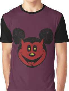 Devil Mickey Graphic T-Shirt