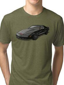 Knight Rider KITT Car Tri-blend T-Shirt