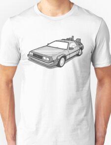 Back to the Future Delorean  T-Shirt