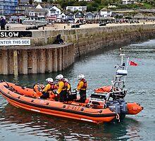 Spirit Of Loch Fyne Lyme's  Lifeboat by lynn carter