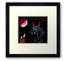 Have a spooky Halloween! Framed Print