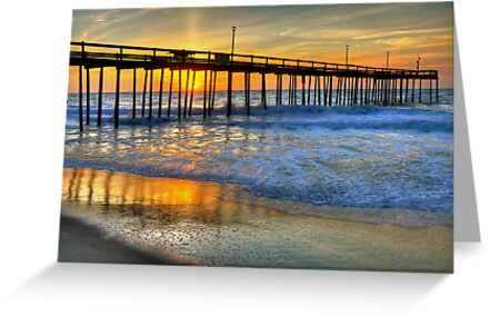 Remembering OC Fishing Pier by Monte Morton