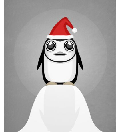 Festive penguin Sticker