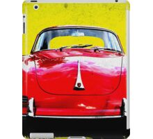 German Flag Porsche 356 Super 90 Red Black Yellow Gold iPad Case/Skin