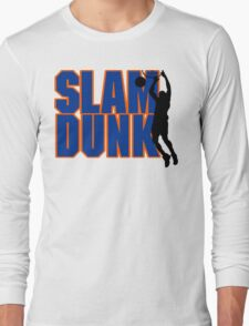 Basketball Slam Dunk Long Sleeve T-Shirt