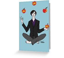 A. Shappey's Apple-Tossing: an Experiment in Happiness Greeting Card