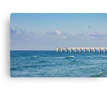 Navarre Pier, Florida Canvas Print