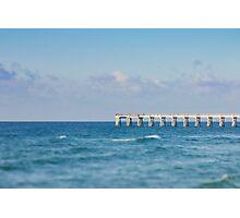 Navarre Pier, Florida Photographic Print